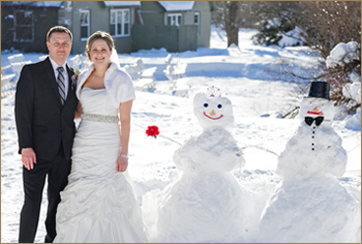 Killington winter wedding